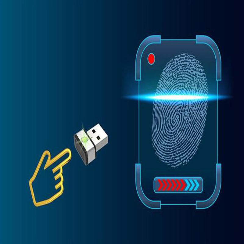 USB Fingerprint Dongle World's Fastest Goldkey Identification Within 0.15 Seconds