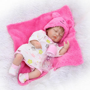 Realistic Sleeping Reborn Baby Doll Girl 16 Inches