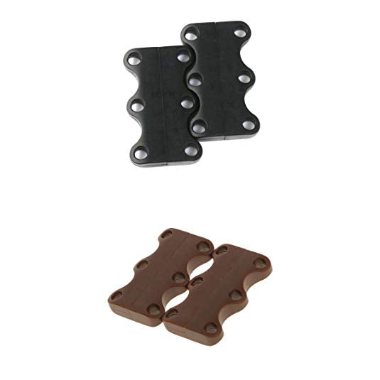 Magnetic Shoe Buckles Magnetic Lacing Solution No-Tie Shoe Buckle System (2 set)