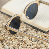 Women Sunglasses Semi-rimless Polarized