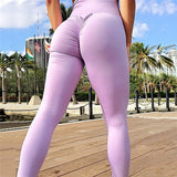 High Waist Push Up Fitness Leggings
