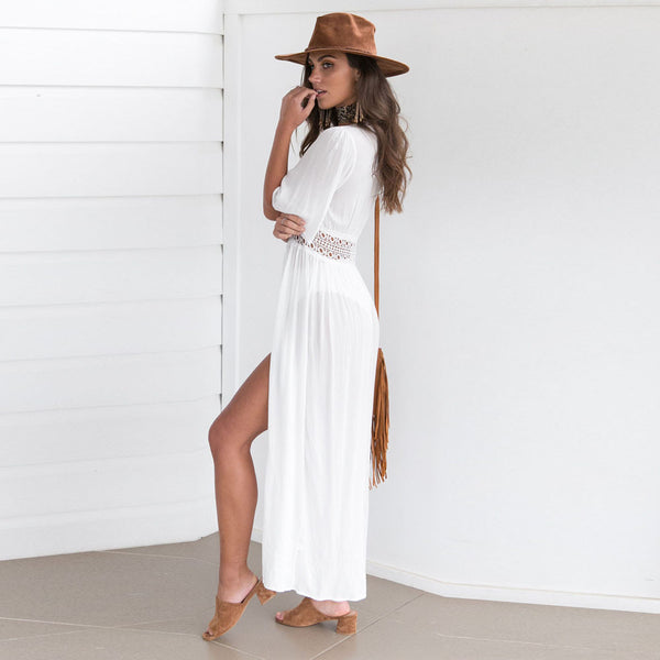 Cover Up Cardigan Beach Swimsuit Dress