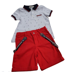 baby boys 3 piece short sets 1-6 years 3 designs