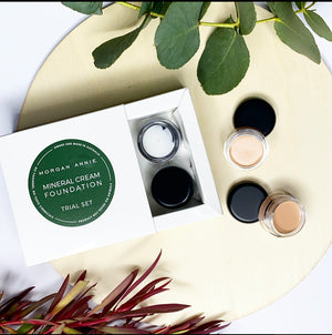 Mineral Cream Makeup Trial Kit - Face