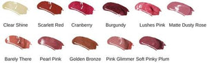 Mineral Lipgloss - selected colours 50% -no code needed
