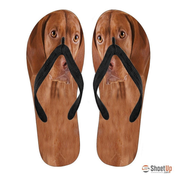 Vizsla Flip Flops For Men-Free Shipping