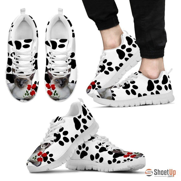 Javanese Cat Print Running Shoes For Men-Free Shipping