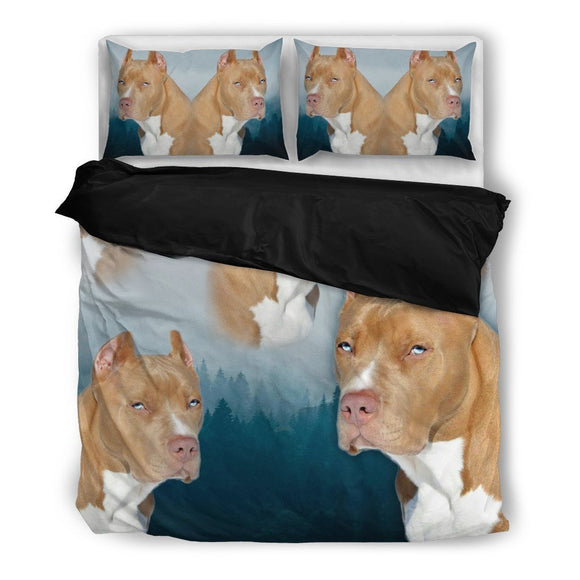 Pit Bull Terrier Bedding Set- Free Shipping