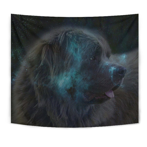 Amazing Newfoundland Dog Print Tapestry-Free Shipping
