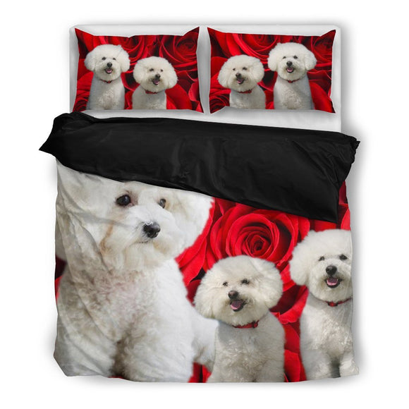 Bichon Frise Bedding Set- Free Shipping