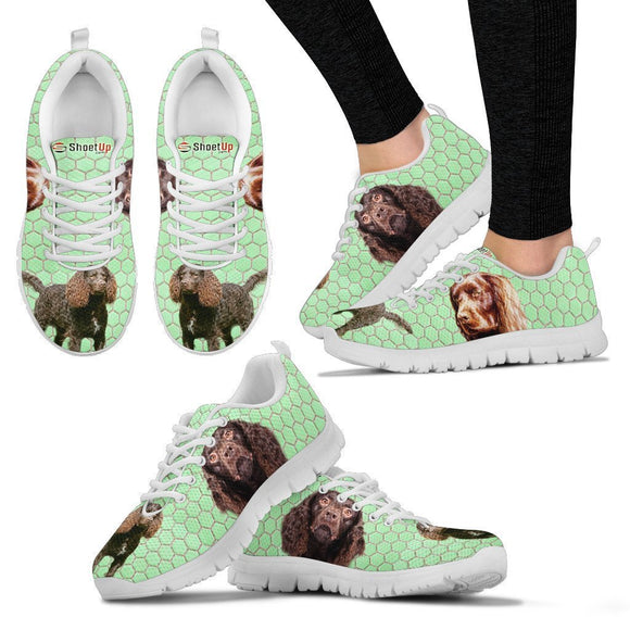 Amazing American Water Spaniel Dog-Women's Running Shoes-Free Shipping
