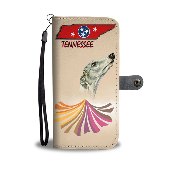 Amazing Whippet Dog Print Wallet Case-Free Shipping-TN State