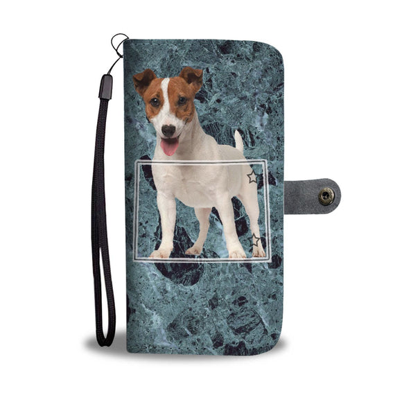 Jack Russell Terrier Print Wallet Case-Free Shipping-CO State