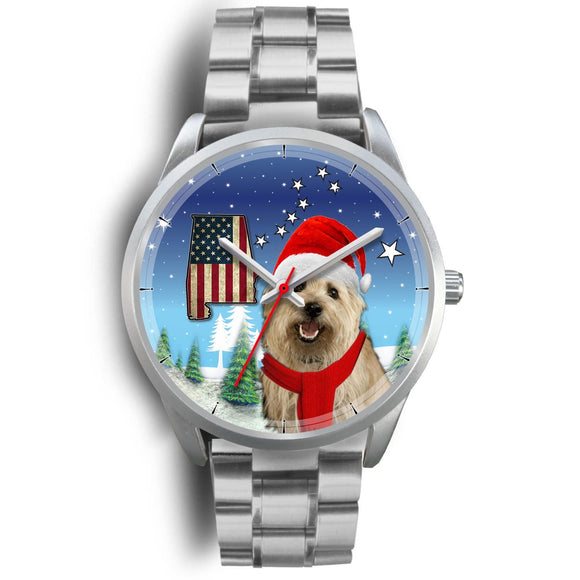 Cairn Terrier Alabama Christmas Special Wrist Watch-Free Shipping