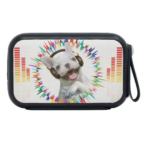 French Bulldog Print Bluetooth Speaker