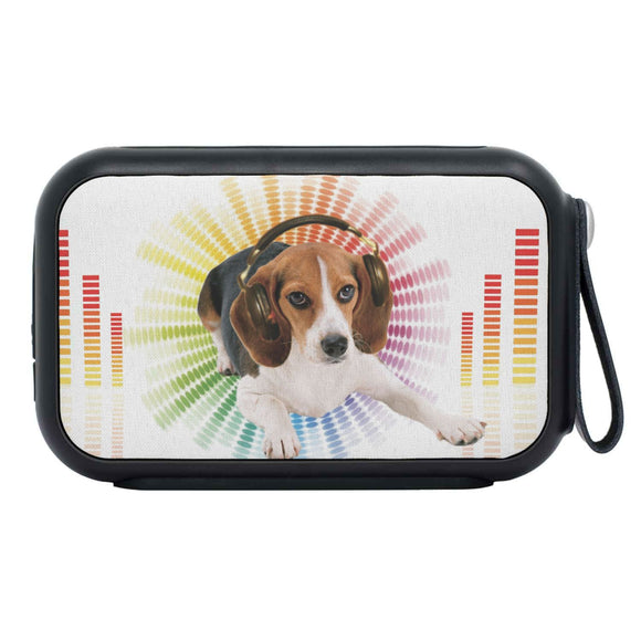 Beagle Print Bluetooth Speaker