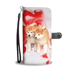 Akita Dog Wallet Case- Free Shipping