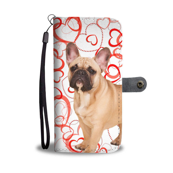 French Bulldog Wallet Case- Free Shipping