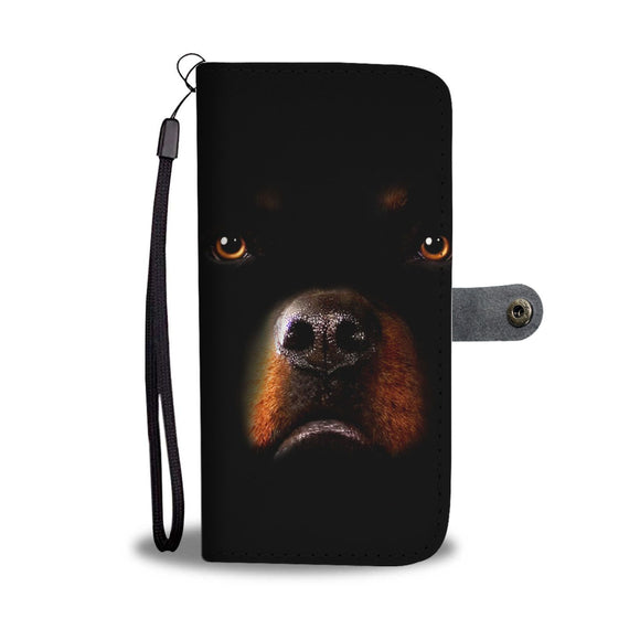 Amazing Rottweiler Dog Print Wallet Case-Free Shipping