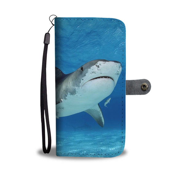 Shark Fish Wallet Case- Free Shipping