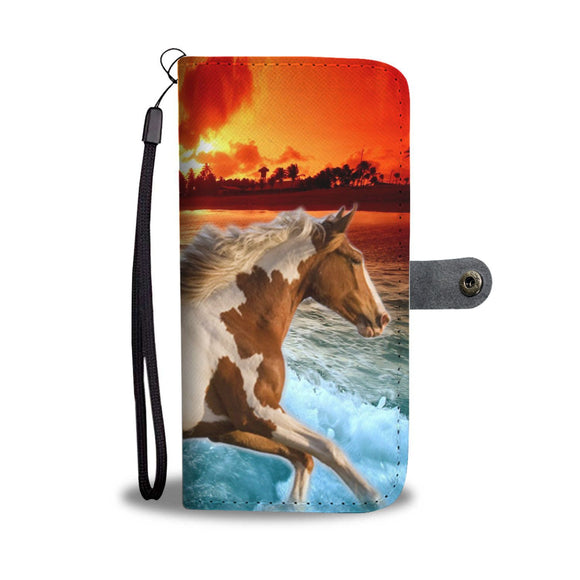 American Paint Horse Wallet Case- Free Shipping