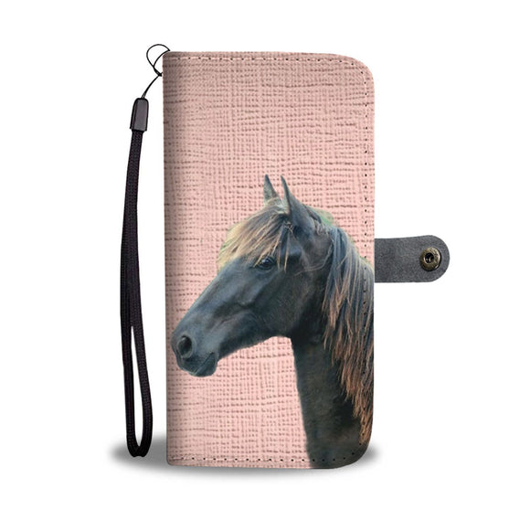 Amazing Tennessee Walking Horse Print Wallet Case-Free Shipping