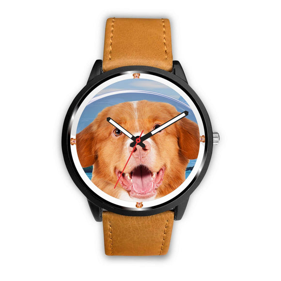 Nova Scotia Duck Tolling Retriever Dog Print Wrist watch - Free Shipping