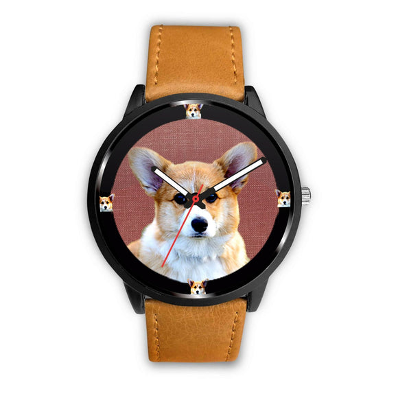 Lovely Pembroke Welsh Corgi Dog Print Wrist watch - Free Shipping