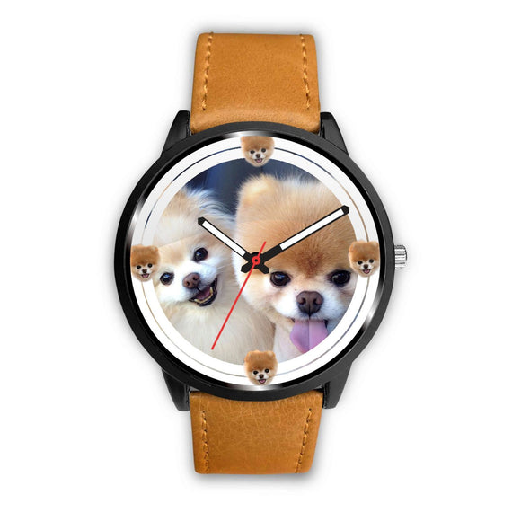 Cute Pomeranian Dog Print Wrist watch - Free Shipping