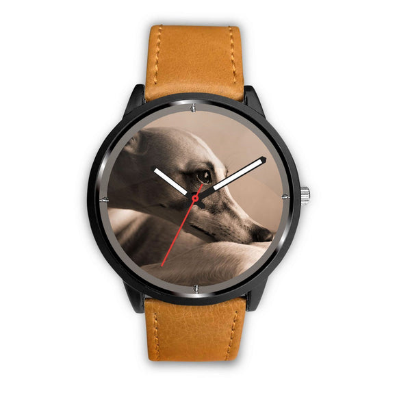 Amazing Whippet Dog Print Wrist Watch-Free Shipping