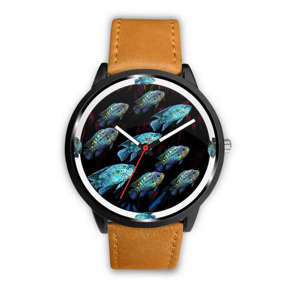 Jack Dampsy Fish Art Print Wrist watch - Free Shipping
