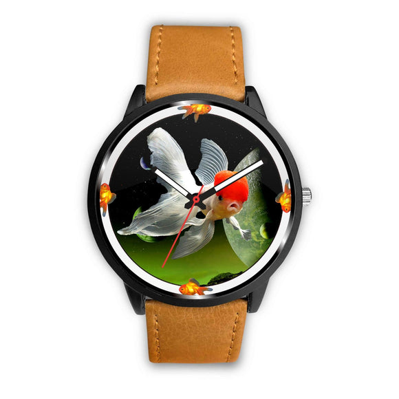 Beautiful Oranda Fish Print Wrist watch - Free Shipping