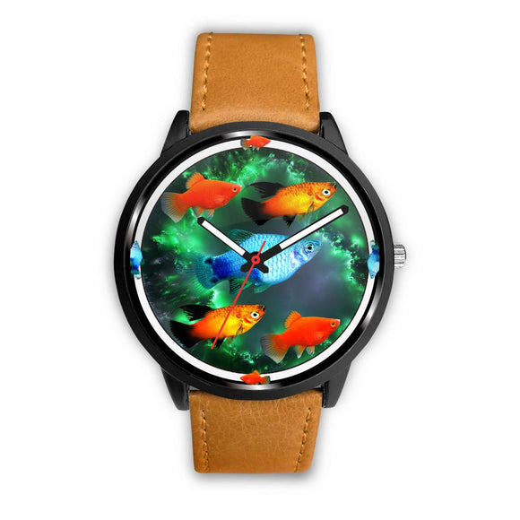 Platy Fish Art Print Wrist watch - Free Shipping