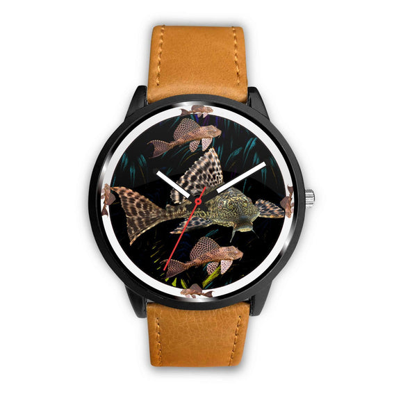 Suckermouth Catfish Print Wrist watch - Free Shipping