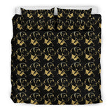 Vizsla Dog Pattern Print Bedding Set-Free Shipping