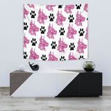 Great Dane Pattern Print Tapestry-Free Shipping