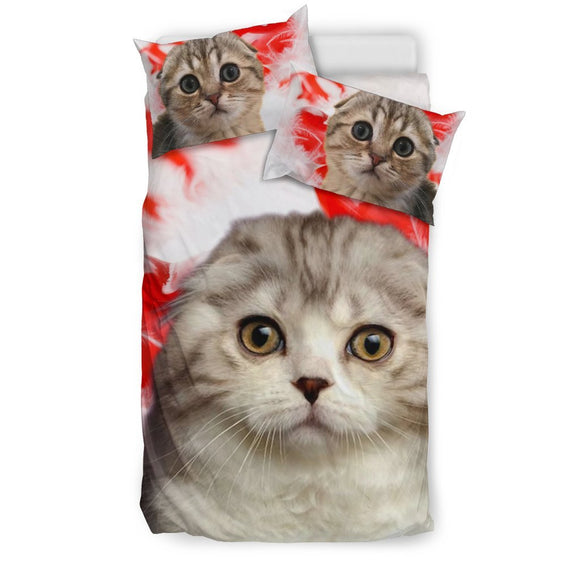 Scottish Fold Cat Print Bedding Set-Free Shipping
