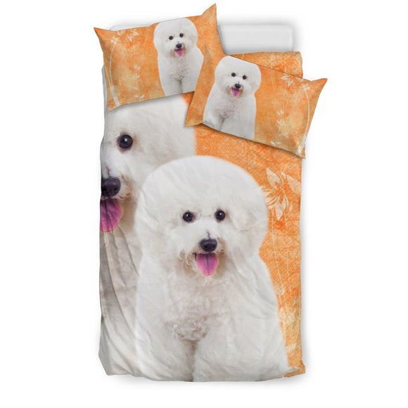 Bichon Frise Dog Print Bedding Sets-Free Shipping