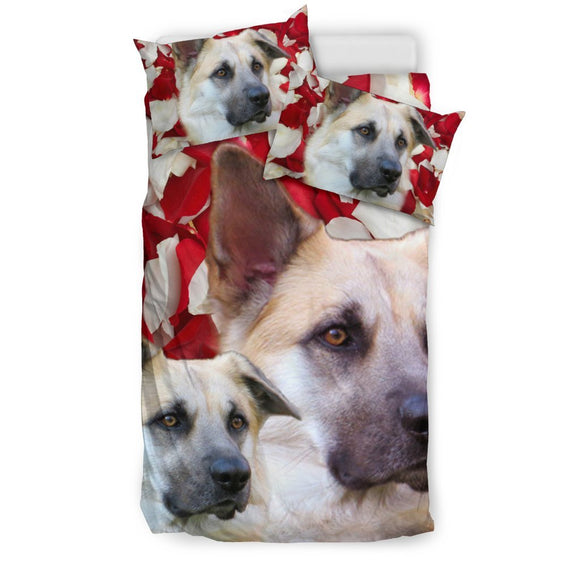 Cute Chinook Dog Print Bedding Set- Free Shipping