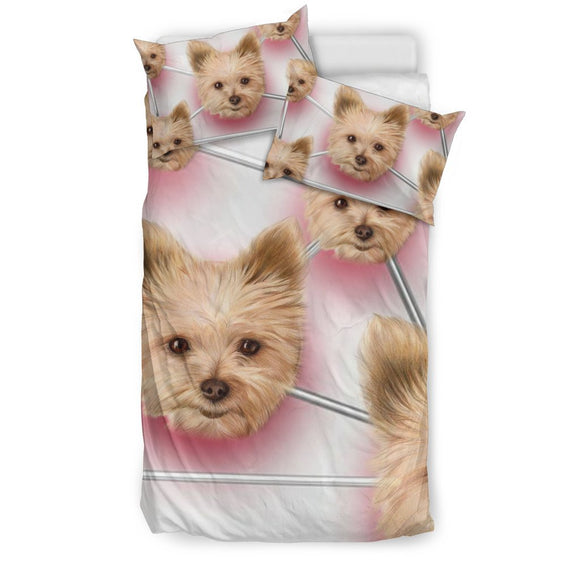 Yorkshire Terrier (Yorkie) Dog Print Bedding Sets-Free Shipping