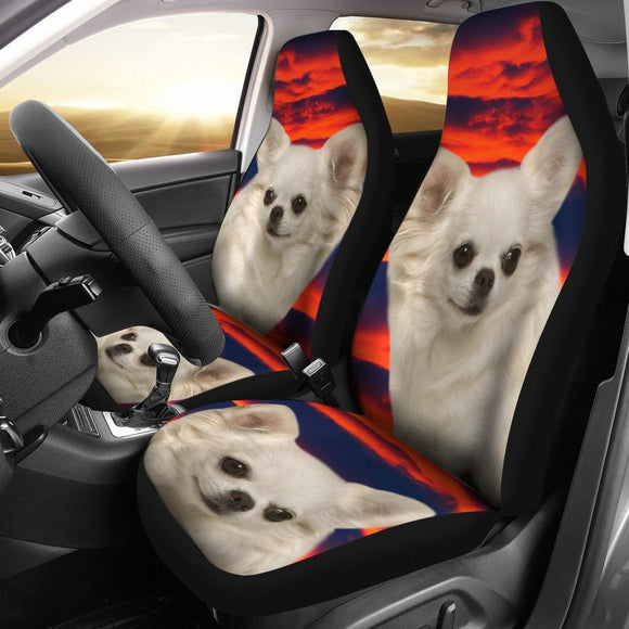 Chihuahua Dog Print Car Seat Covers-Free Shipping