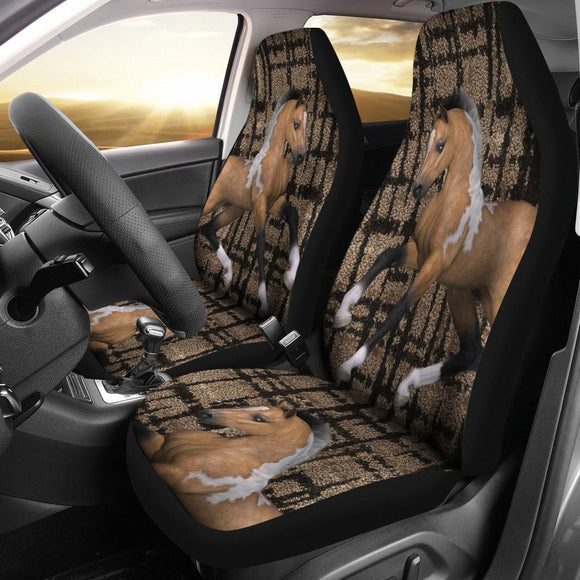 American Quarter Horse Print Car Seat Covers- Free Shipping