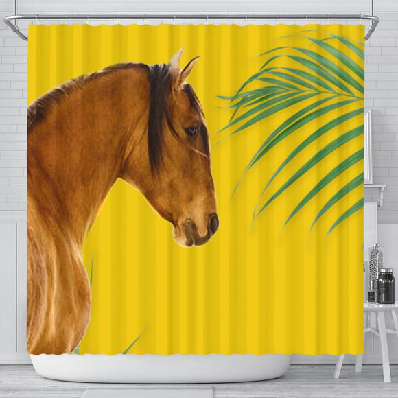 Amazing Kiger Mustang Horse Print Shower Curtain-Free Shipping