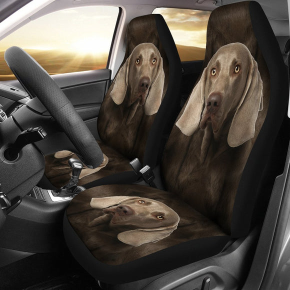 Weimaraner Dog Print Car Seat Covers-Free Shipping
