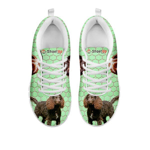 Amazing American Water Spaniel Dog-Women's Running Shoes-Free Shipping-For 24 Hours Only
