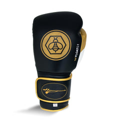 Ringside Honey Punch Float G1 Series Pro Spar Glove Black / Gold / White