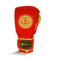 Ringside Honey Punch Float G1 Series Pro Spar Glove Red / Gold / Black