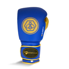 Ringside Honey Punch Float G1 Series Pro Spar Glove Royal / Gold / White