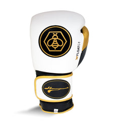 Ringside Honey Punch Float G1 Series Pro Spar Glove White / Gold / Black