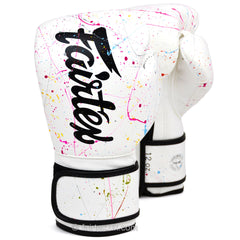 Fairtex The Painter White Boxing Gloves BGV14